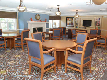 dining area for Pacifica's seniors