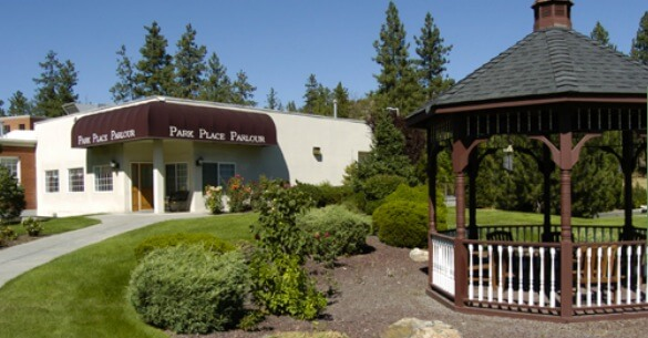 Park Place of Spokane facility front view