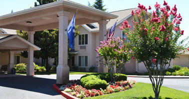 Prestige Senior Living in Chico - entry way