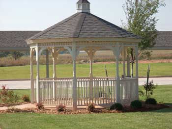 This gazebo is one of the many lovely amenities to this assisted living facility in Oklahoma