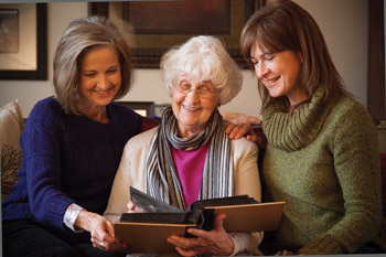 caring for elderly photo