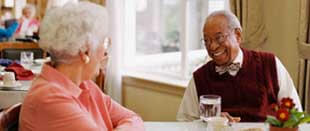 Rose Court Assisted Living in Phoenix is cozy, and comfortable for seniors.
