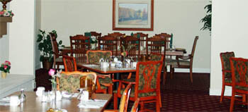 Rosewood Gardens Dining Room