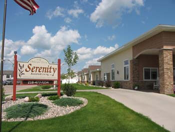 Serenity Assisted Living - Exterior View of the Facility