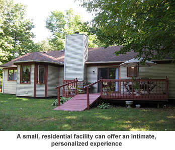 Small assisted living facility