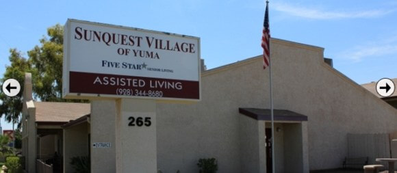 SunQuest assisted living of Yuma