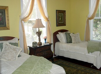 seniors bedroom at Sweetwater Manor