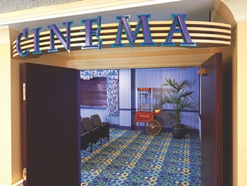 cinema area