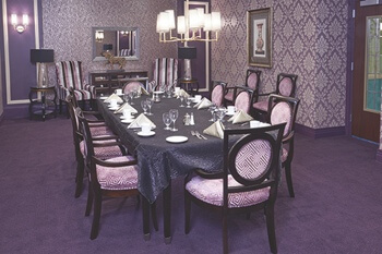 The Bristal dining room