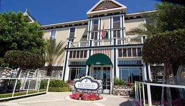 The Gables assisted living of Monrovia, CA is in a pleasing-to-the-eye building with several levels of services.