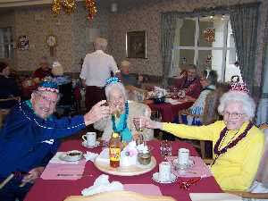 New Years Party Assisted Living