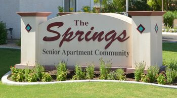 The Springs of Scottsdale entryway