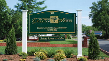 The Village at Gordon House located in Gordonsville Virginia assisted living