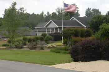 The Woodlands assisted living facility in McCalla, Alabama is a beautiful facility that offers private amenities such as baths, meal services, and other services such as Respite care