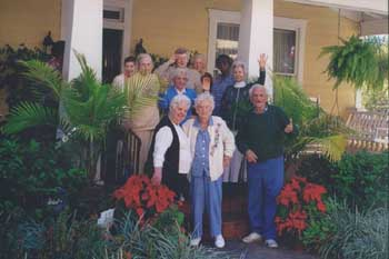 The seniors at Thornton Gardens enjoy a happy, safe living experience!