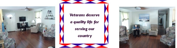 Veterans assisted living home