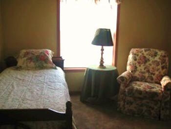 Seniors have bedrooms that are functional, safe and comfortable