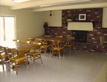 a common area for facility residents at Wadhams