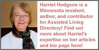 Harriet's bio page and author information