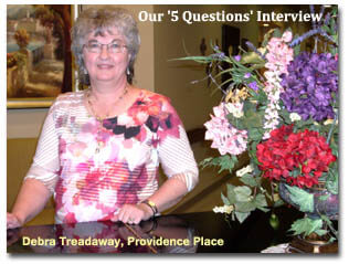 Debra Treadway of Providence Place
