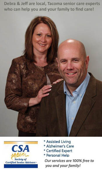 Jeff and Debra local Tacoma care advisors