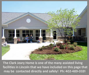 Lincoln assisted living facility example