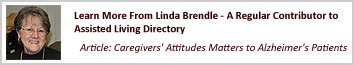 Linda's caregivers information