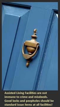 Locks And Peepholes In Senior Care Facilities