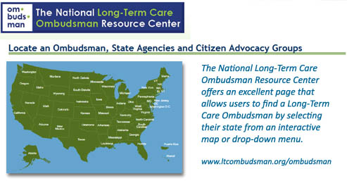 Long Term Care Ombudsman Map