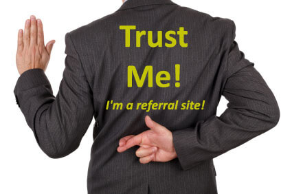 Can You Trust Referral Sites?