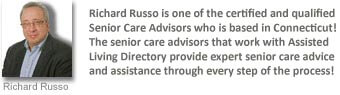 one of our senior care advisors who works within Connecticut!