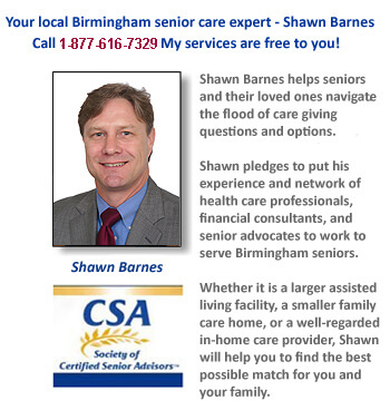 Yes, there certainly are qualified and experienced experts in Birmingham who can lead you to the best assisted living choices