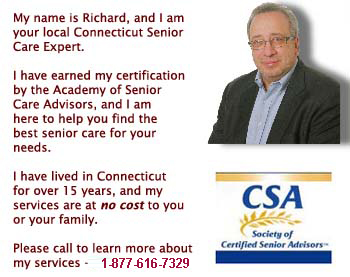 Senior assisted living care expert for Connecticut