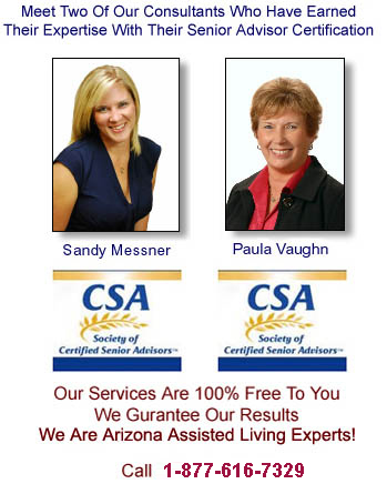 Glendale Senior Care Consulting, Paula and Sandy