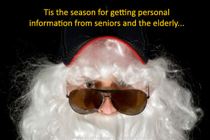 Season for stealing from seniors and the elderly