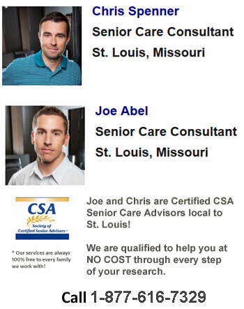 CSA Senior Care Advisors Joe and Chris for St. Louis