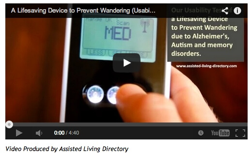 Wandering Prevention - see video