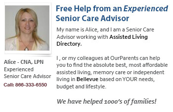 Bellevue senior care help and assistance