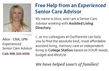 caregiving help for College Station