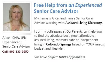 Colorado Springs advisor - Alice