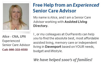 Help for Davenport's seniors and families