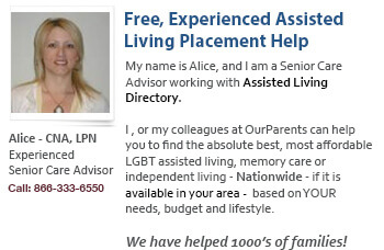 LGBT assisted living placement help
