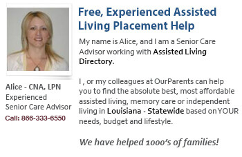Louisiana Assisted Living Placement Help