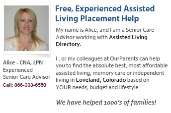 Loveland assisted living placement help