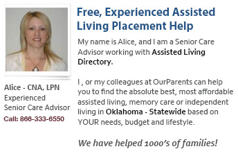 Oklahoma senior care help and assistance