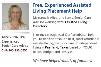 Pearland assisted living placement help