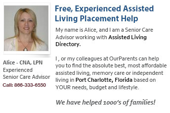 Port Charlotte assisted living placement assistance