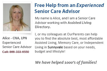 assisted living placement help for Sunnyvale's seniors