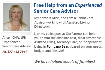 Pompano Beach assisted living placement help