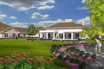 assisted living facility outside